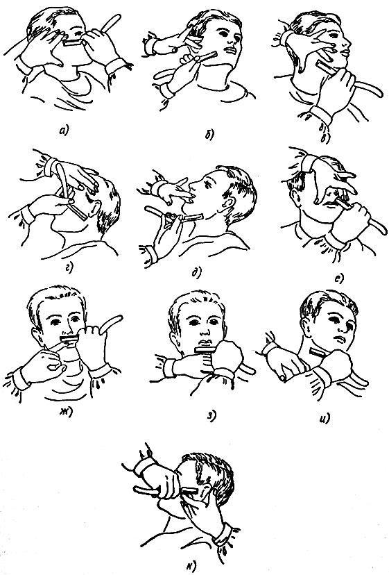 Бритье лица и головы