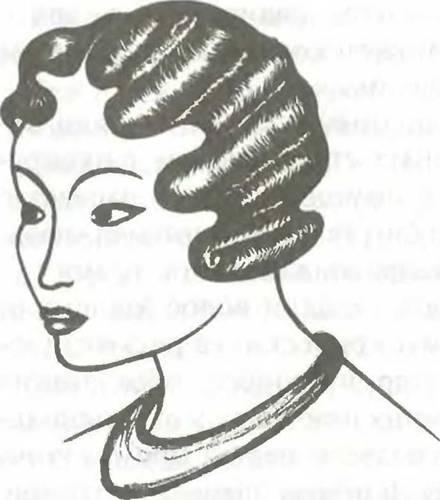 Укладка волос холодным способом