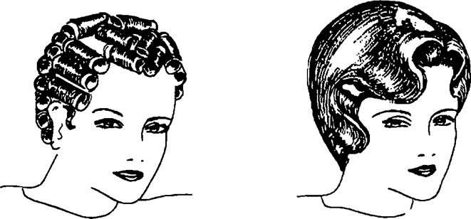 Схема накрутки волос на бигуди