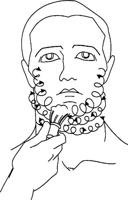 Технология бритья лица
